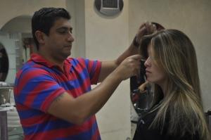 Luiz Materia participa do Workshop de Mechas do Creative Team (tendências para o verão)