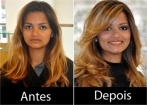 New look - antes e depois (por Luiz Materia e equipe)